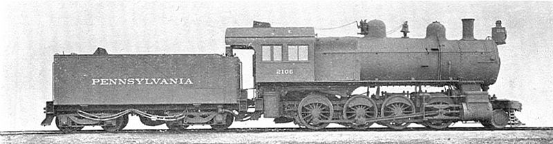 Bestand:Commons-PRR-2-8-0 locomotive, 2106 (Howden, Boys' Book of Locomotives, 1907).jpg