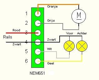 7 Polige Stekker Ombouwen Naar 13 Polig Schema.Nem Connectoren En Kabelkleuren 3rail Wiki